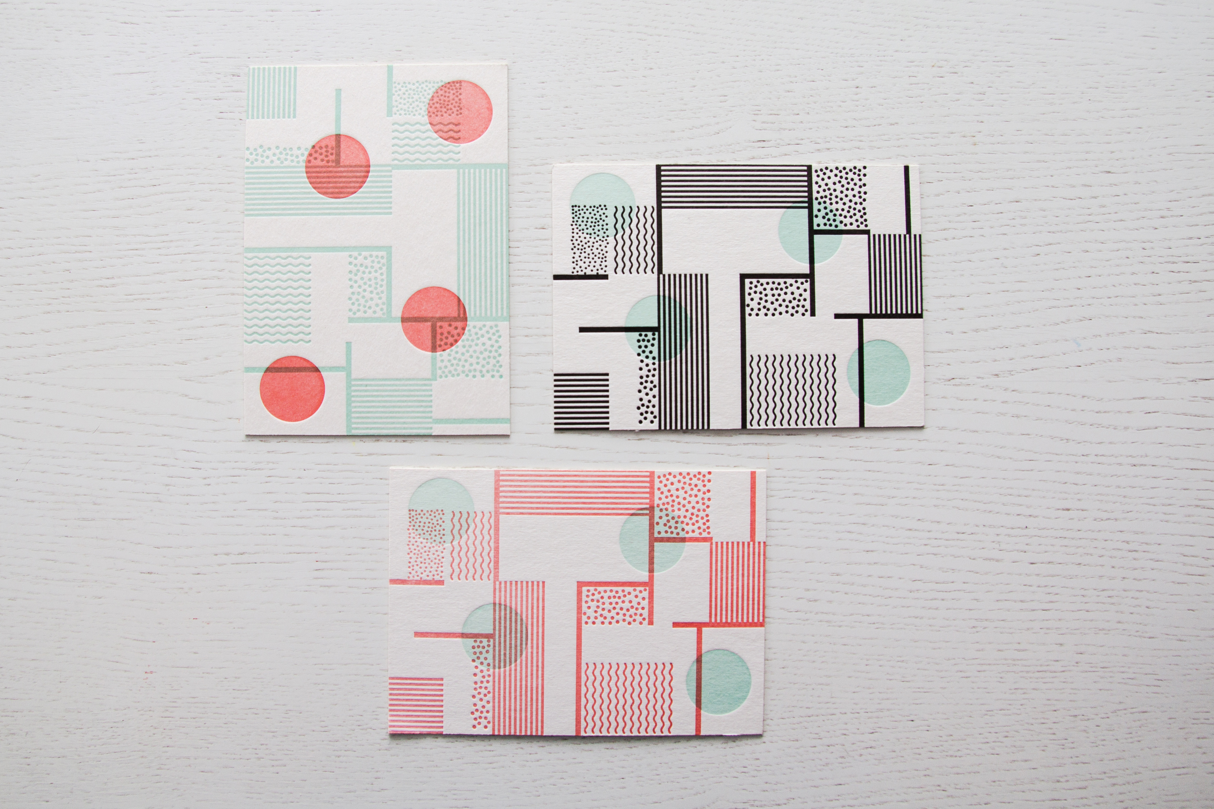 Postcards by Typotopia