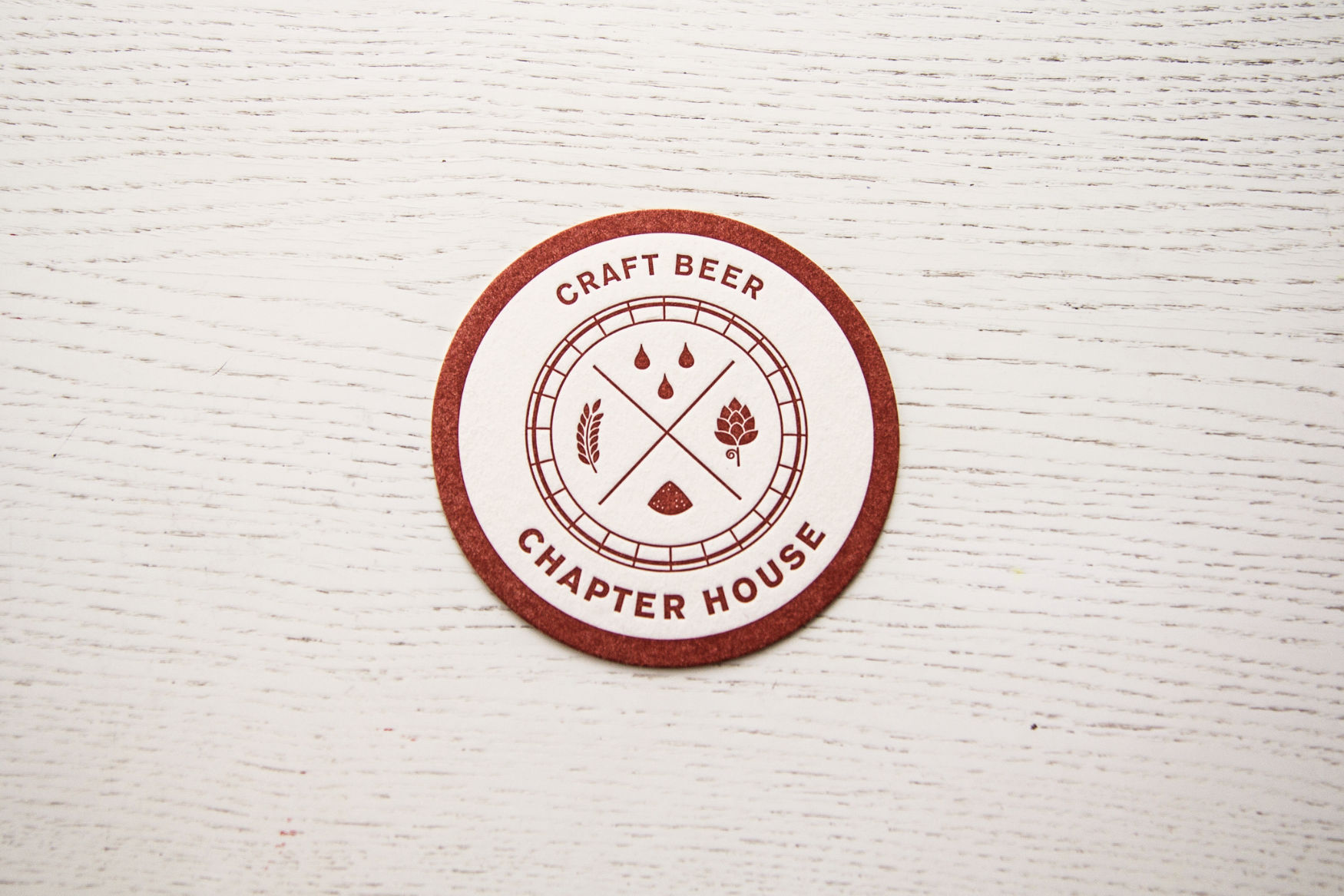 Coasters / Ölunderlägg - Chapter House